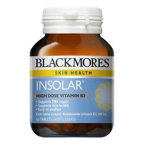 Blackmores Insolar High Dose Vitamin B3 - 60 Tablets