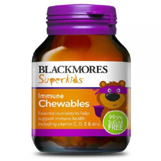 Blackmores Superkids Immune Chewable - 60 Tablets