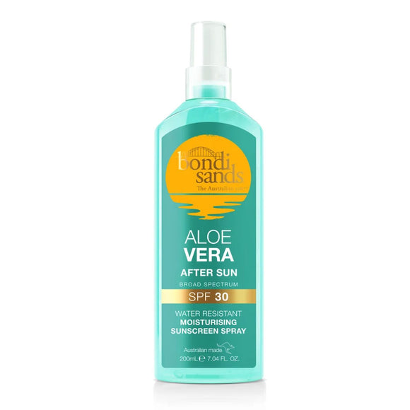Bondi Sands Aloe Vera After Sun SPF 30 Moisturising Sunscreen Spray 200ml