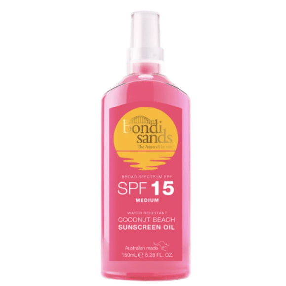 Bondi Sands Coconut Beach SPF 15 Sunscreen Oil 150ml