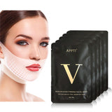 5pcs/Box Double V Line Shaped Slimming Contour Face Mask