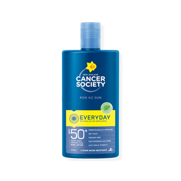 Cancer Society SPF50+ Everyday Lotion Sunscreen 400ml