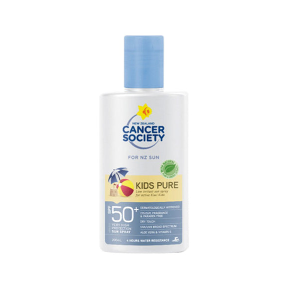 Cancer Society SPF50+ Kids Pure Lotion Sunscreen 200ml