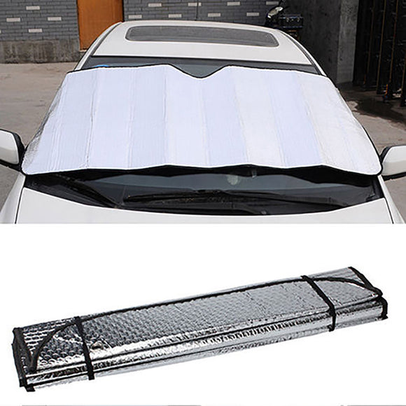 Car Front Windshield Sun Shade Cover Reflector Anti UV Dust Protector