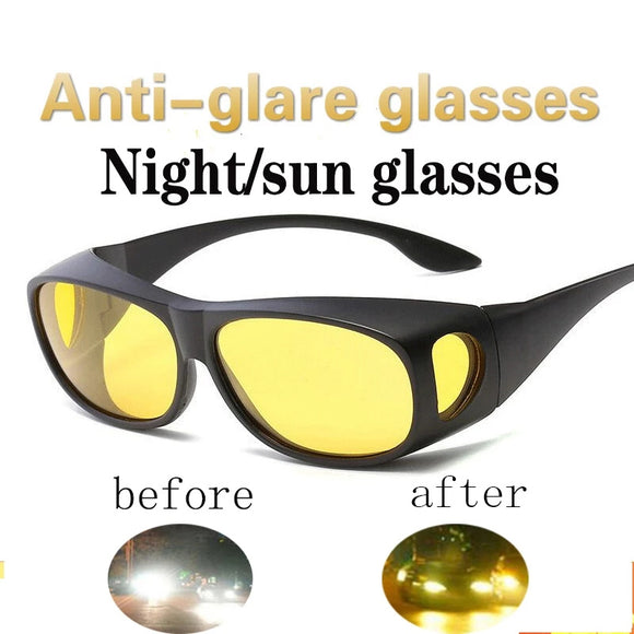 Day Night Driving Glasses Polarized UV Protection Anti-Glare Sunglasses