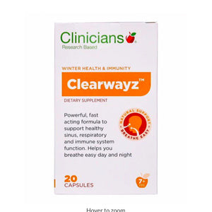 Clinicians Clearwayz 20 Capsules