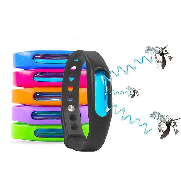 Color Mosquito Repellent Silicone Bracelet