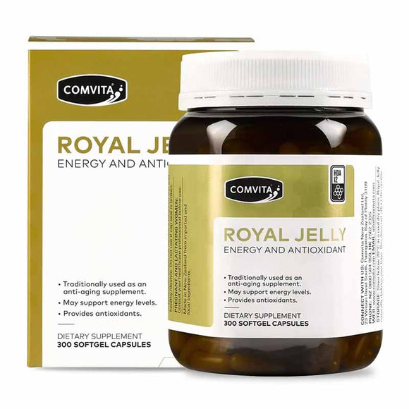 Comvita Royal Jelly Capsules 300 Caps