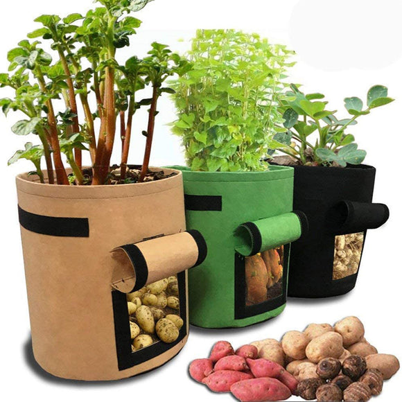 Waterproof DIY Potato Grow Home Garden Planter Bag