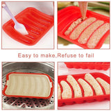 DIY Sausage Making Mold Silicone Burger Hot Dog Kitchen Maker Mould