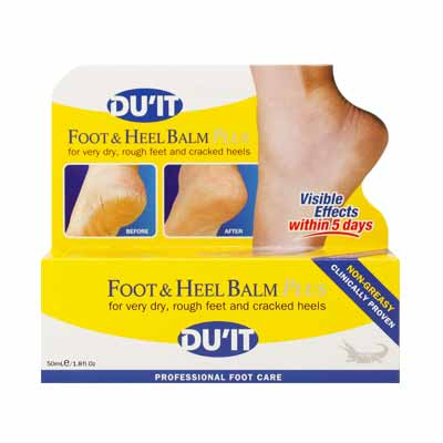 DU'IT-Foot And Heel Balm Plus 50g
