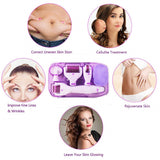 6 in 1 Micro Needle Anti Ageing Acne Wrinkle Massager Skin Care