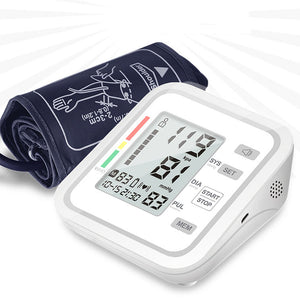 Digital Upper Arm Electronic Blood Pressure Monitor with Voice Function