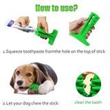 Dog Toothbrush Stick Chew Toys Dental Cleaning Massager