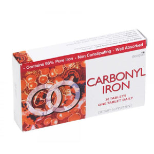 Douglas Dietary Carbonyl Iron 30 Tablets