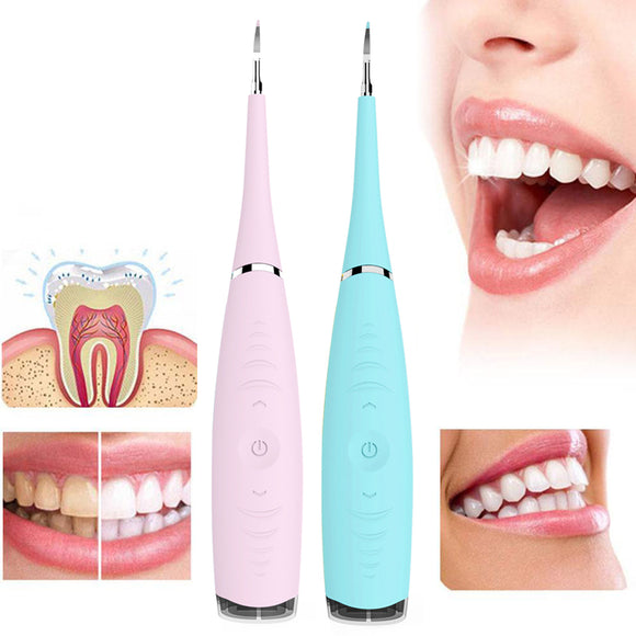 Electric Dental Calculus Plaque Remover Teeth Cleaner