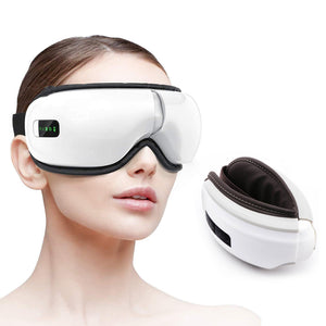 Electric Eye Massager with Heat, Air Pressure, Vibration, Bluetooth Music
