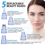 Electric Facial Blackhead Acne Suction Removal Pore Cleansing Vacuum