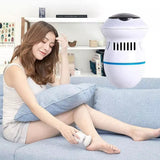 Electric Foot Callus Remover Grinder Pedicure Tools with Vacuum Removes Dead Skin