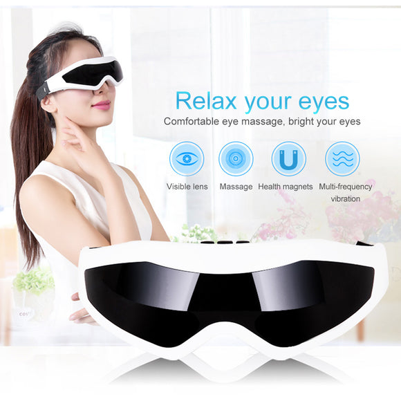 Electric Magnet Therapy Relax Vibration Eye Mask Massager