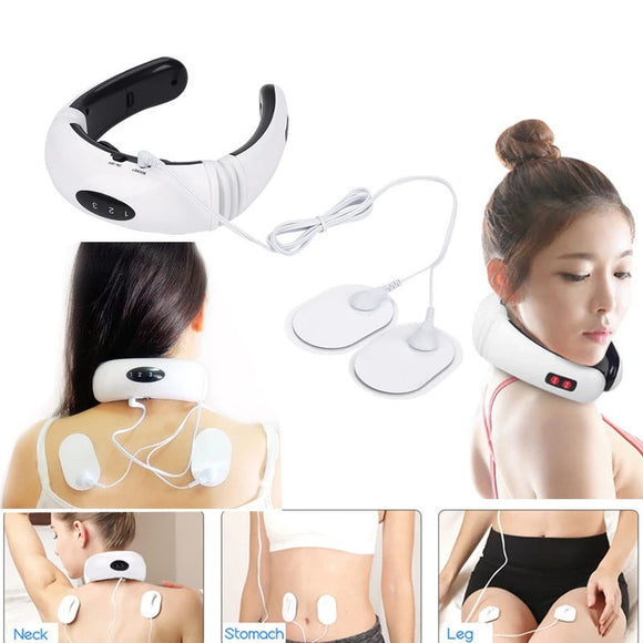 Electric Neck Massager Pulse Back 6 Modes