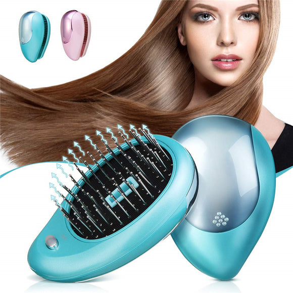 Electric Ionic Vibration Hair Brush