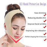 2pcs Face Slimming V Line Mask Shape Face Lift-up Belt