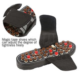Feet Massage Slippers Foot Reflexology Acupuncture Therapy Massager