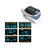 Finger Pulse Oximeter, Blood Oxygen Monitor