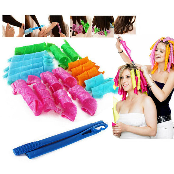 Flexible DIY Styling Wave Hair Rollers Curler