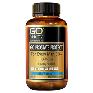 GO Healthy Go Prostate Protect - For Every Man 30+ 120 Capsules