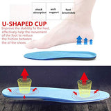 Thickening Shoes Insoles Silicone Gel Foot Cushion Insert Pads