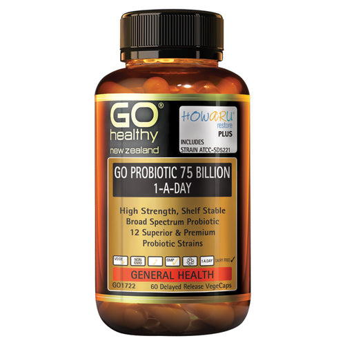 Go Healthy Go Probiotic 75 Billion 1-A-Day