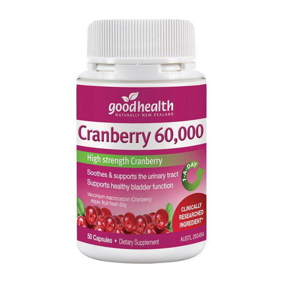 Good Health Cranberry 60,000 50 Capsules