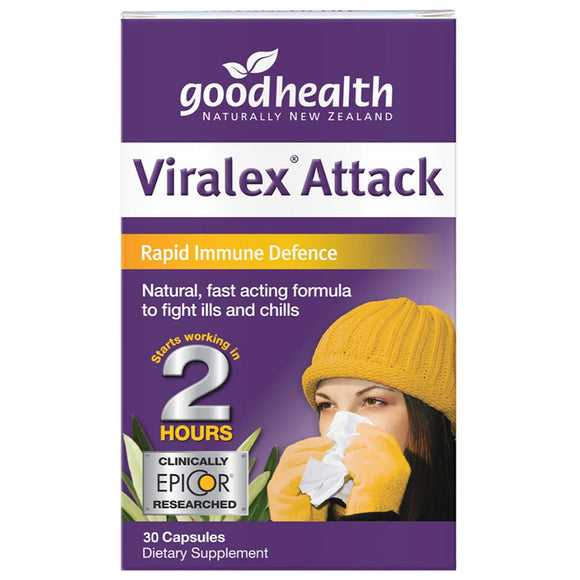 Good Health Viralex Attack 30 Capsules