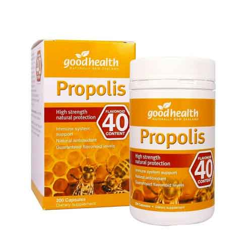 GoodHealth Propolis 40 High Strength Natural Protection - 200 Capsules