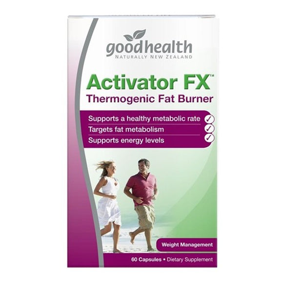 Good Health Activator FX 60 Capsules - Thermogenic Fat Burner