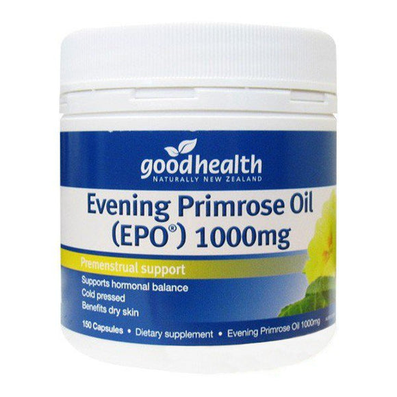 Good Health Evening Primrose Oil (EPO) 1000mg 150 Capsules