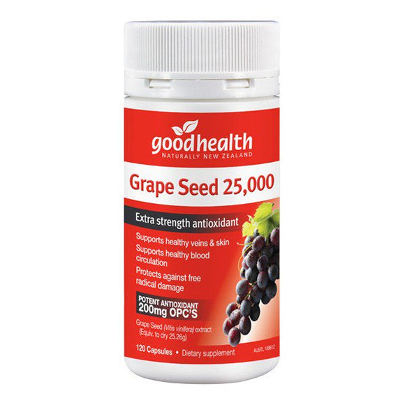 Good Health Grape Seed 25,000 120 Capsules