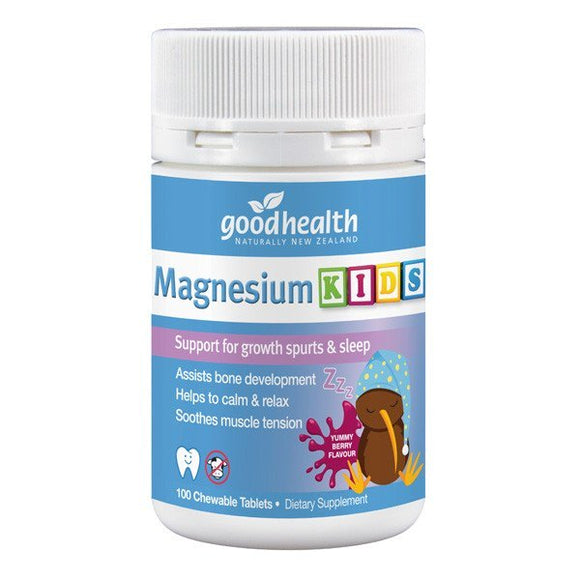 Good Health Magnesium Kids 100 Tablets