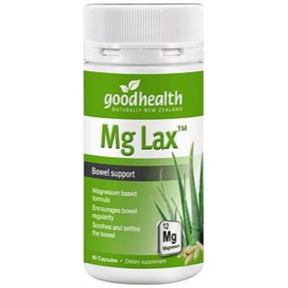 Good Health Mg Lax - 60 Capsules