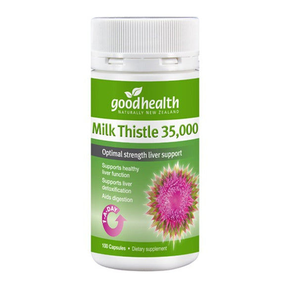 Good Health Milk Thistle 35000mg - 100 Capsules