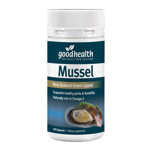 Good Health Mussel 300mg 150 Capsules - New Zealand Green Lipped