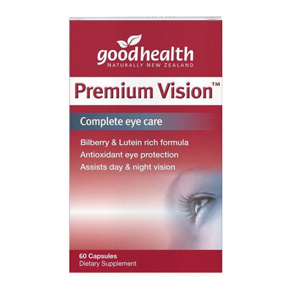 Good Health Premium Vision - Complete Eye Care  60 Capsules