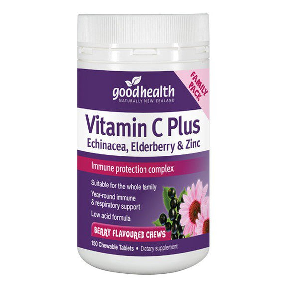 Good Health Vitamin C Plus 150 Chewable Tablets