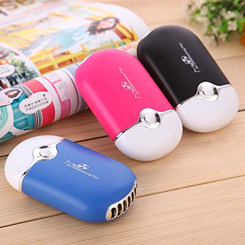 Handheld Mini Air Conditioner USB Rechargeable Cooling Fan