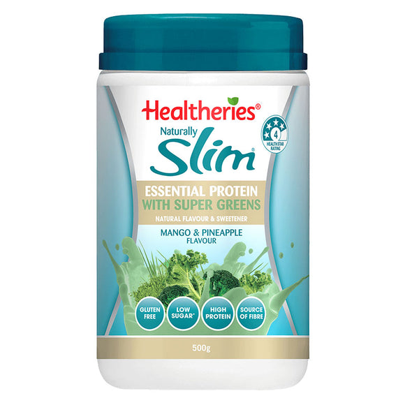 Healtheries Naturally Slim Essential Protein with Super Greens 500g