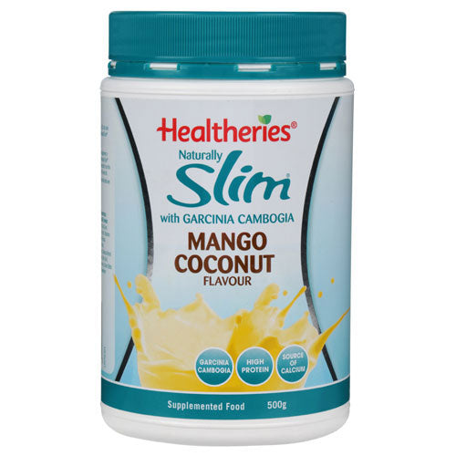Healtheries Naturally Slim Nutrition Formula Mango & Coconut 500g