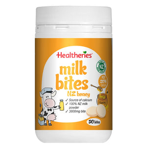 Healtheries Milk Bites - NZ Honey 50 Bites