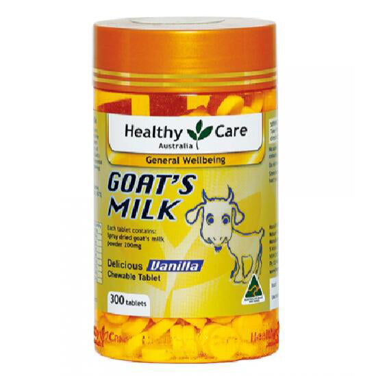 Healthy Care Goat's Vanilla Flavour - 300 Tablets